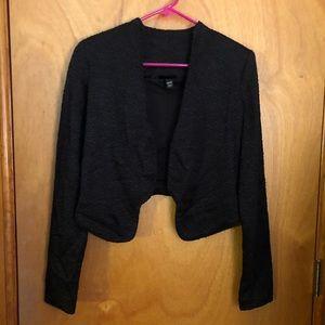 Mossimo Black Cropped Jacket
